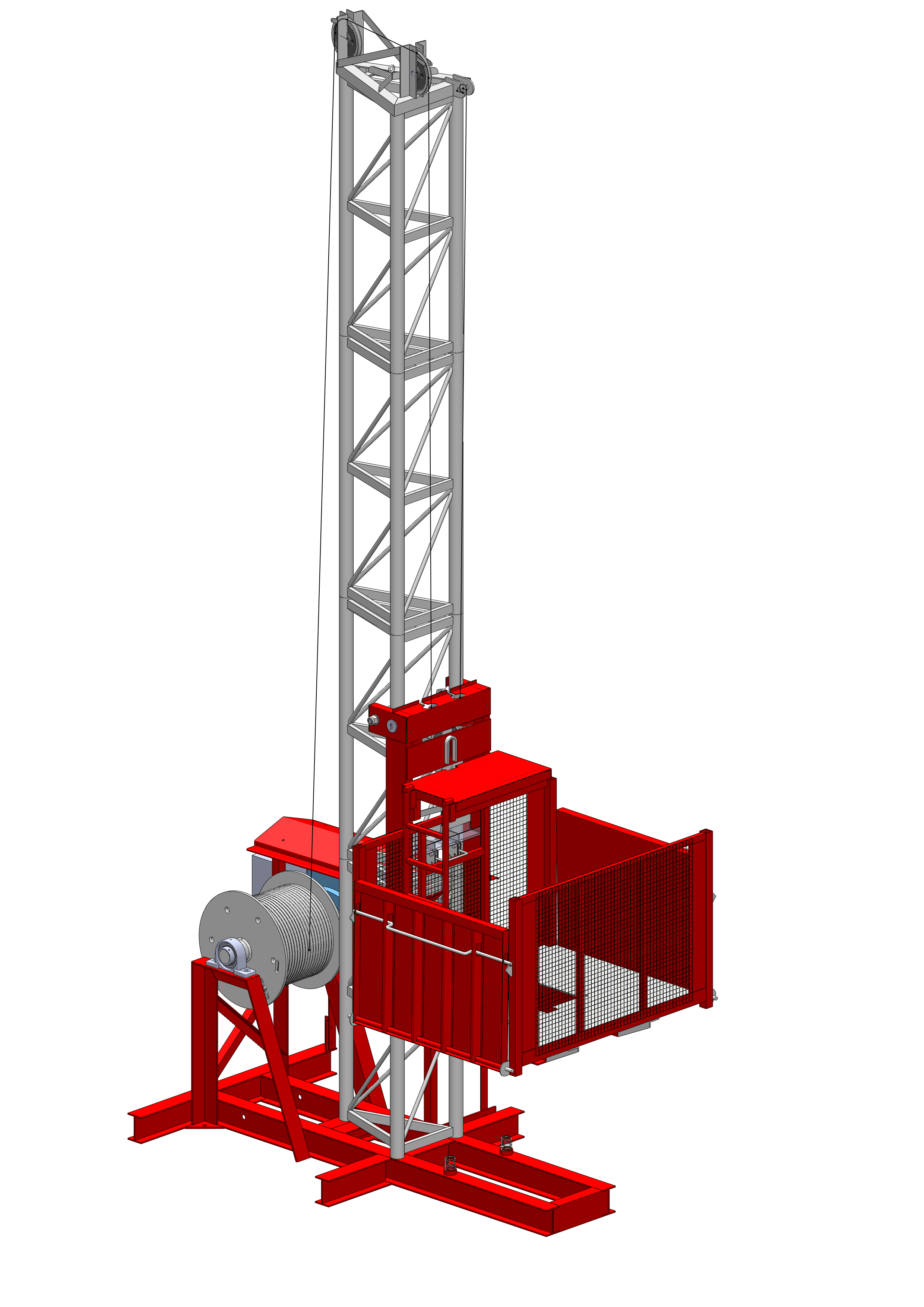 Material Lift Safety : Gr material hoist wickham elevators sdn bhd