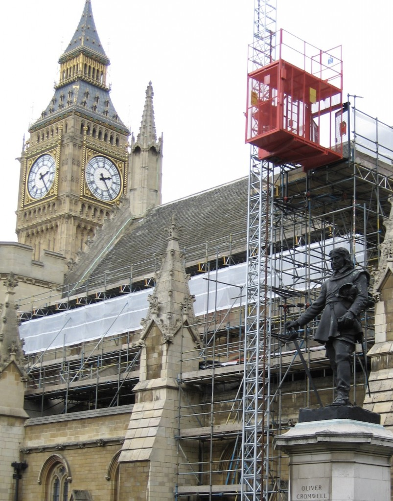 Wickham Elevators - Rack and Pinion construction and